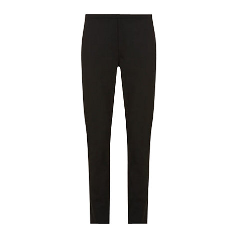 Buy Mint Velvet Luxury Jersey Treggings, Black Online at johnlewis.com