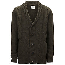 Buy Selected Homme Page Shawl Neck Cardigan Online at johnlewis.com