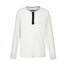 Buy Selected Homme Brichen Split Neck Top Online at johnlewis.com
