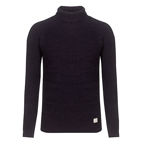 Buy Selected Homme Turtle Neck Cotton Jumper Online at johnlewis.com