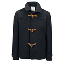 Buy Selected Homme Pac Duffle Coat, Dark Grey Online at johnlewis.com