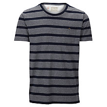 Buy Selected Homme Short Sleeve Broome T-Shirt, Grey/Black Online at johnlewis.com