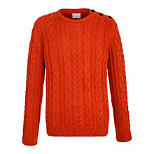 Buy Selected Homme Ron Split Crew Neck Jumper Online at johnlewis.com