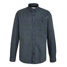 Buy Selected Homme Pixel Shirt, Blue Online at johnlewis.com
