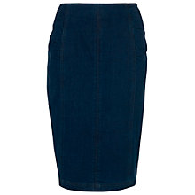 Buy Phase Eight Priscilla Denim Pencil Skirt, Blue Online at johnlewis.com
