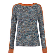Buy NW3 by Hobbs Textured Jumper, Saffron Multi Online at johnlewis.com