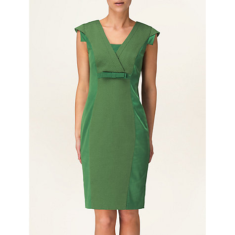 Buy Phase Eight Stella Contrast Trim Dress, Juniper Online at johnlewis.com