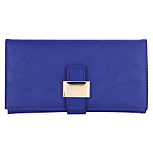 Buy Warehouse Tab Purse, Blue Online at johnlewis.com