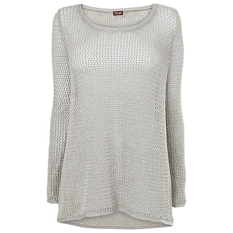 Buy Phase Eight Camilla Metallic Jumper, Antique Online at johnlewis.com