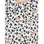 Buy Warehouse Bird Floral T-Shirt, White Online at johnlewis.com