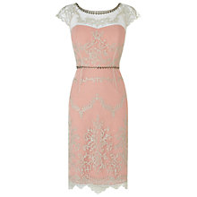 Buy Phase Eight Alice Lace Cocktail Dress, Cameo Online at johnlewis.com