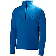 Buy Helly Hansen Mount ProStretch Half Zip Fleece, Blue Online at johnlewis.com