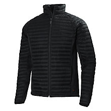 Buy Helly Hansen Odin Quilted Jacket, Black Online at johnlewis.com