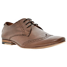 Buy Bertie Assurable Leather Brogue Shoes, Tan Online at johnlewis.com