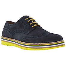 Buy Bertie Bumbled Suede Brogue Derby Shoes Online at johnlewis.com