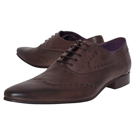 Buy KG by Kurt Geiger Marty Leather Derby Shoes Online at johnlewis.com