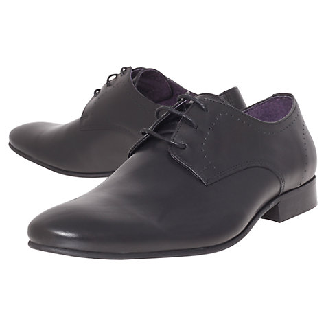 Buy KG by Kurt Geiger Joseph Leather Derby Shoes Online at johnlewis.com