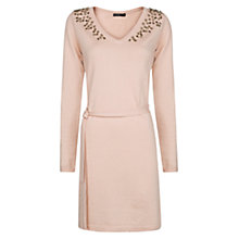 Buy Mango Embellished Knit Dress Online at johnlewis.com