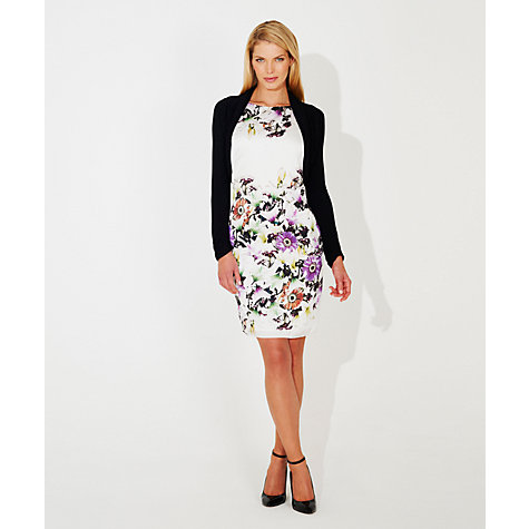 Buy Damsel in a dress Lilly Forest Printed Dress, White Online at johnlewis.com