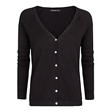 Buy Mango Essential Knit Cardigan, Black Online at johnlewis.com