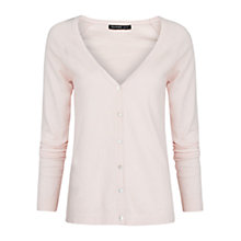 Buy Mango Essential Knit Cardigan, Light Pastel Pink Online at johnlewis.com