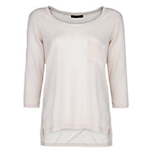Buy Mango Pocket T-Shirt, Light Beige Online at johnlewis.com