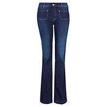 Buy Mango Dark Wash Flared Jeans Online at johnlewis.com