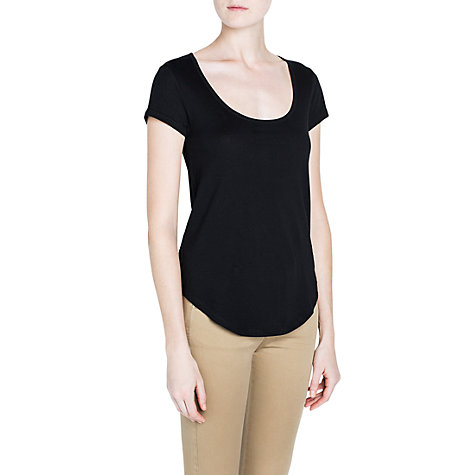 Buy Mango Essential Cotton T-shirt Online at johnlewis.com