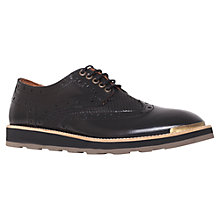 Buy KG by Kurt Geiger Burnham Leather Brogue Shoes Online at johnlewis.com