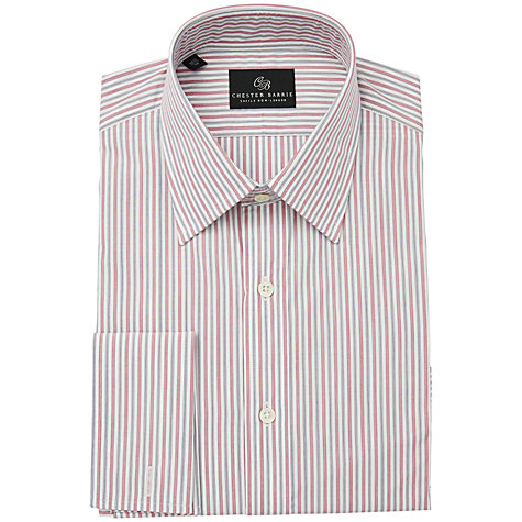 Buy Chester Barrie Savile Row Peter Stripe Long Sleeve Shirt Online at johnlewis.com