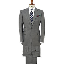 Buy Chester Barrie Savile Row Single Breasted Flannel Suit, Grey Online at johnlewis.com