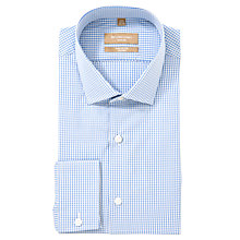 Buy Richard James Mayfair Micro Check Long Sleeve Shirt Online at johnlewis.com