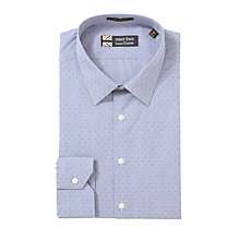 Buy West End by Simon Carter Point Dobby Long Sleeve Shirt Online at johnlewis.com
