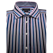 Buy Duchamp Hurlingham Stripe Long Sleeve Shirt Online at johnlewis.com