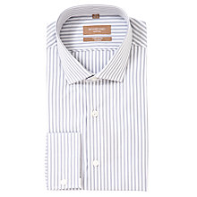 Buy Richard James Mayfair Triple Stripe Long Sleeve Shirt Online at johnlewis.com