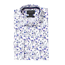 Buy Duchamp Lieno Floral Print Long Sleeve Shirt Online at johnlewis.com
