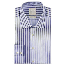 Buy Ben Sherman Tailoring Mouline Striped Shirt Online at johnlewis.com