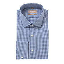 Buy Richard James Mayfair Houndstooth Gingham Long Sleeve Shirt Online at johnlewis.com