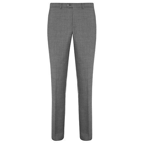 Buy John Lewis Made in Italy Sharkskin Suit, Mid Grey Online at johnlewis.com