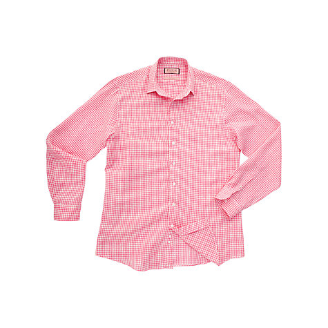Buy Thomas Pink Chetwode Check Linen Long Sleeve Shirt Online at johnlewis.com