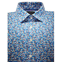 Buy Duchamp Ditsy Floral Print Long Sleeve Shirt Online at johnlewis.com