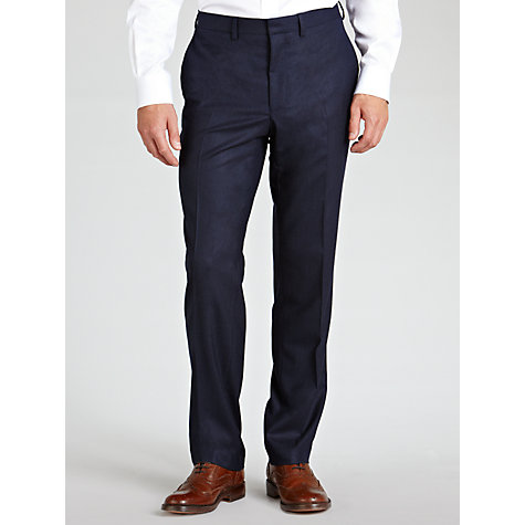Buy West End by Simon Carter Flannel Suit Trousers Online at johnlewis.com