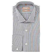Buy Richard James Mayfair Bengal Stripe Long Sleeve Shirt Online at johnlewis.com