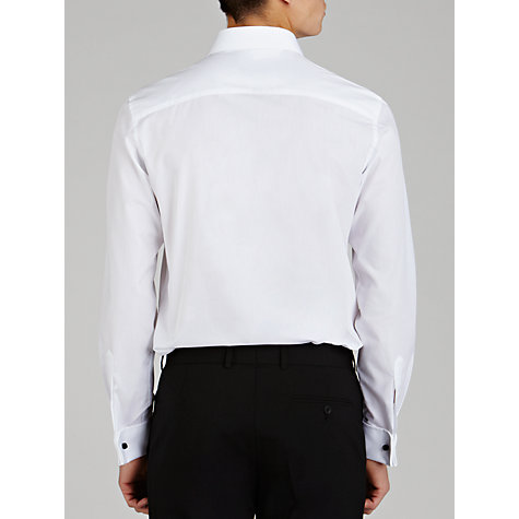 Buy John Lewis Marcello Pointed Collar Tailored Fit Dress Shirt, White Online at johnlewis.com