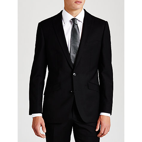 Buy Simon Carter Plain Suit Jacket, Black Online at johnlewis.com