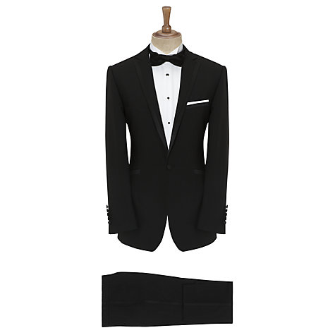 Buy Daniel Hechter Dinner Suit Peak Lapel Jacket, Black Online at johnlewis.com