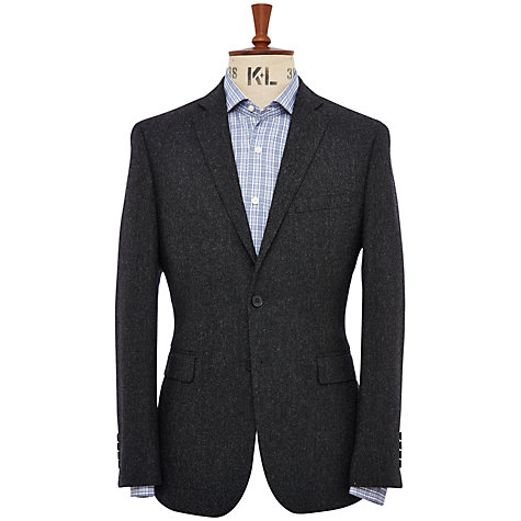Buy Richard James Mayfair Herringbone Jacket, Pacific Blue Online at johnlewis.com