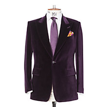 Buy Chester Barrie Savile Row Peak Lapel Velvet Jacket Online at johnlewis.com