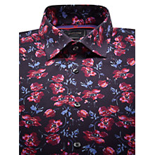Buy Duchamp Dutch Floral Long Sleeve Shirt, Purple Online at johnlewis.com