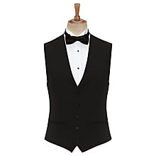 Buy Daniel Hechter Dinner Suit Wool Waistcoat, Black Online at johnlewis.com